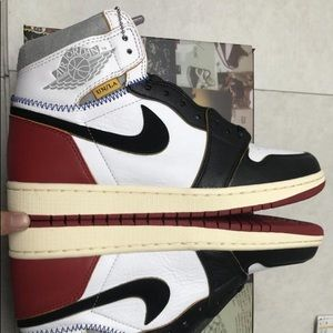 Union Jordan 1 Black toe size 10.5 Brand new